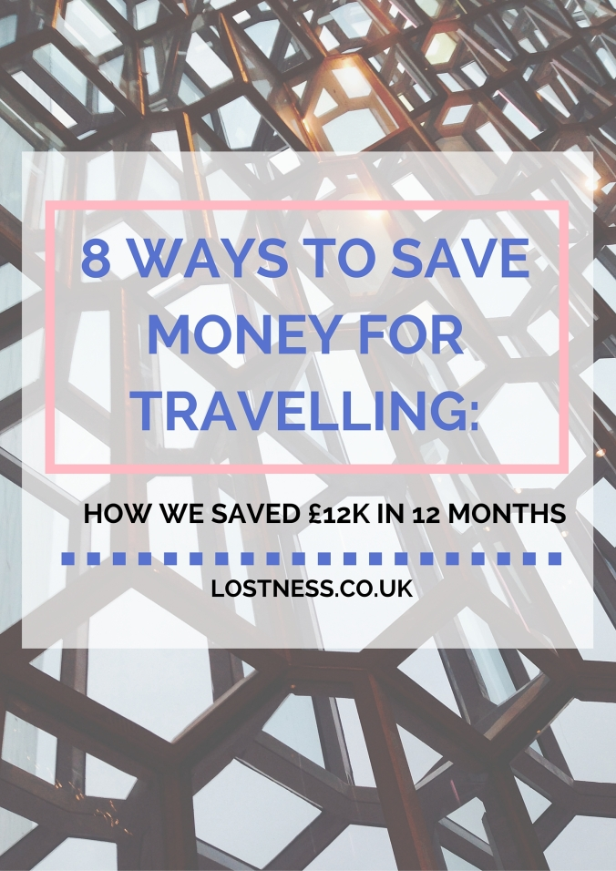 8WaysToSaveMoneyForTravellingLostness.co.uk